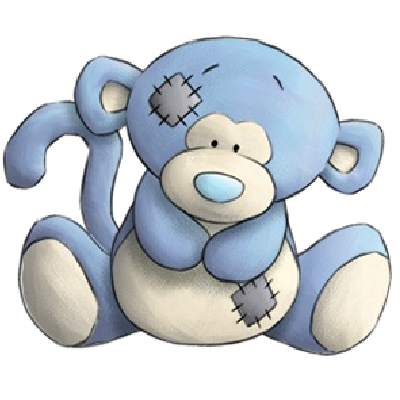 Coco animals png. The monkey blue