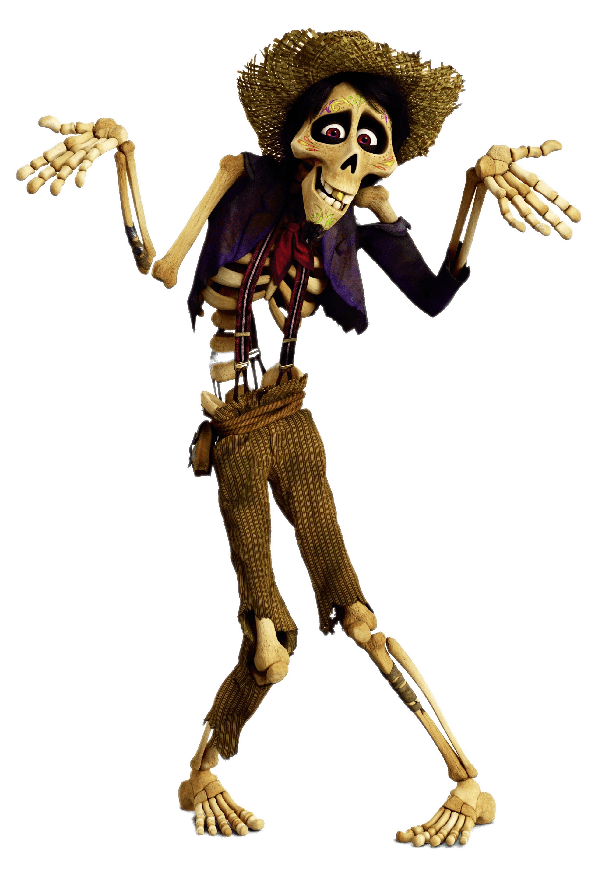 Coco cartoon png. Hector doensn t know