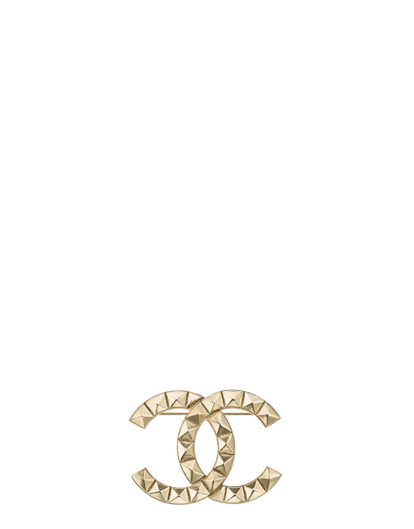 Coco chanel bling png. Brooch metal gold wishlist