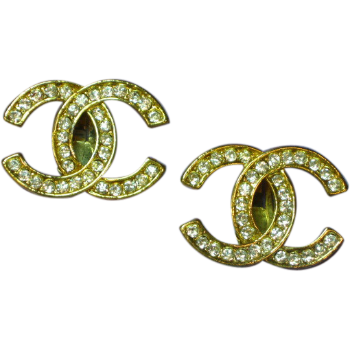 Coco chanel bling png. Imitation paris france bedazzled