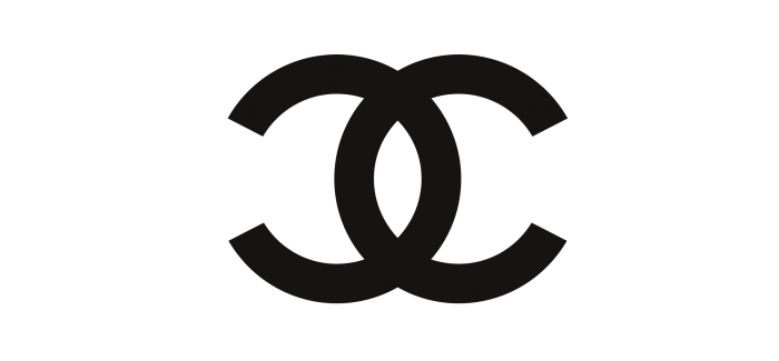 Coco chanel logo png. Channel black background images