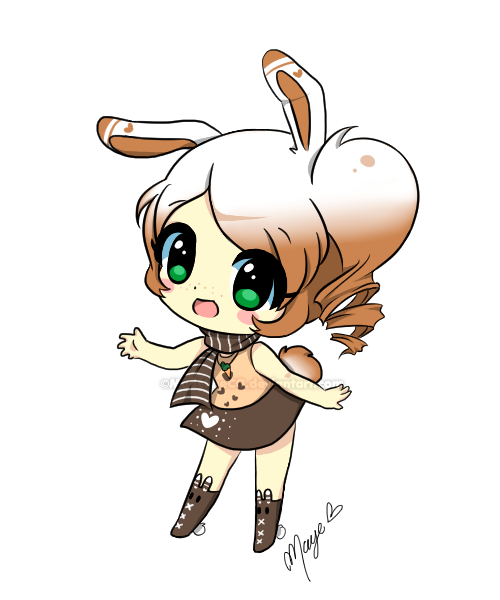 Coco drawing chibi. Commission by madelinecg on