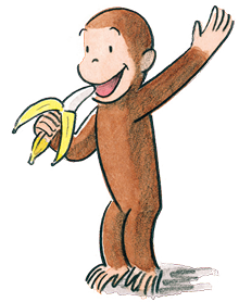 Coco drawing monkey. Curious george wikipedia first
