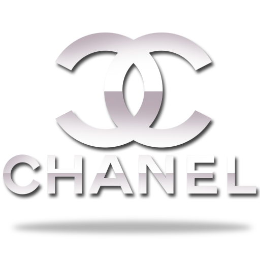 Coco mademoiselle logo png. Chanel silver white pinterest