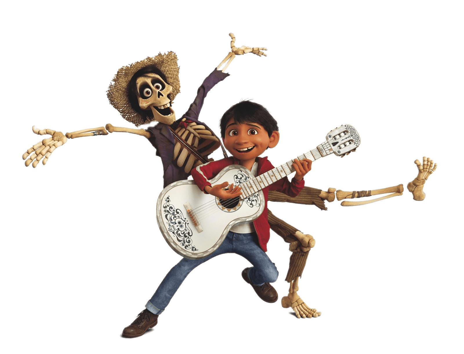 Coco miguel png. And hector playing music
