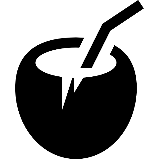 Simpleicon places png svg. Coconuts vector coconut husk svg library library