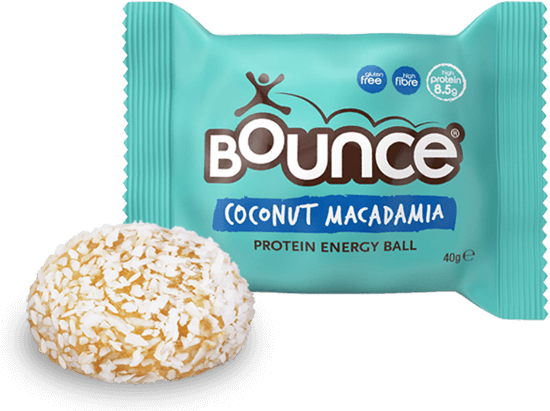 Coco sprinkles png. Coconut macadamia protein bar