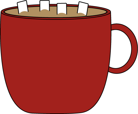 Cocoa clipart. Cup of hot