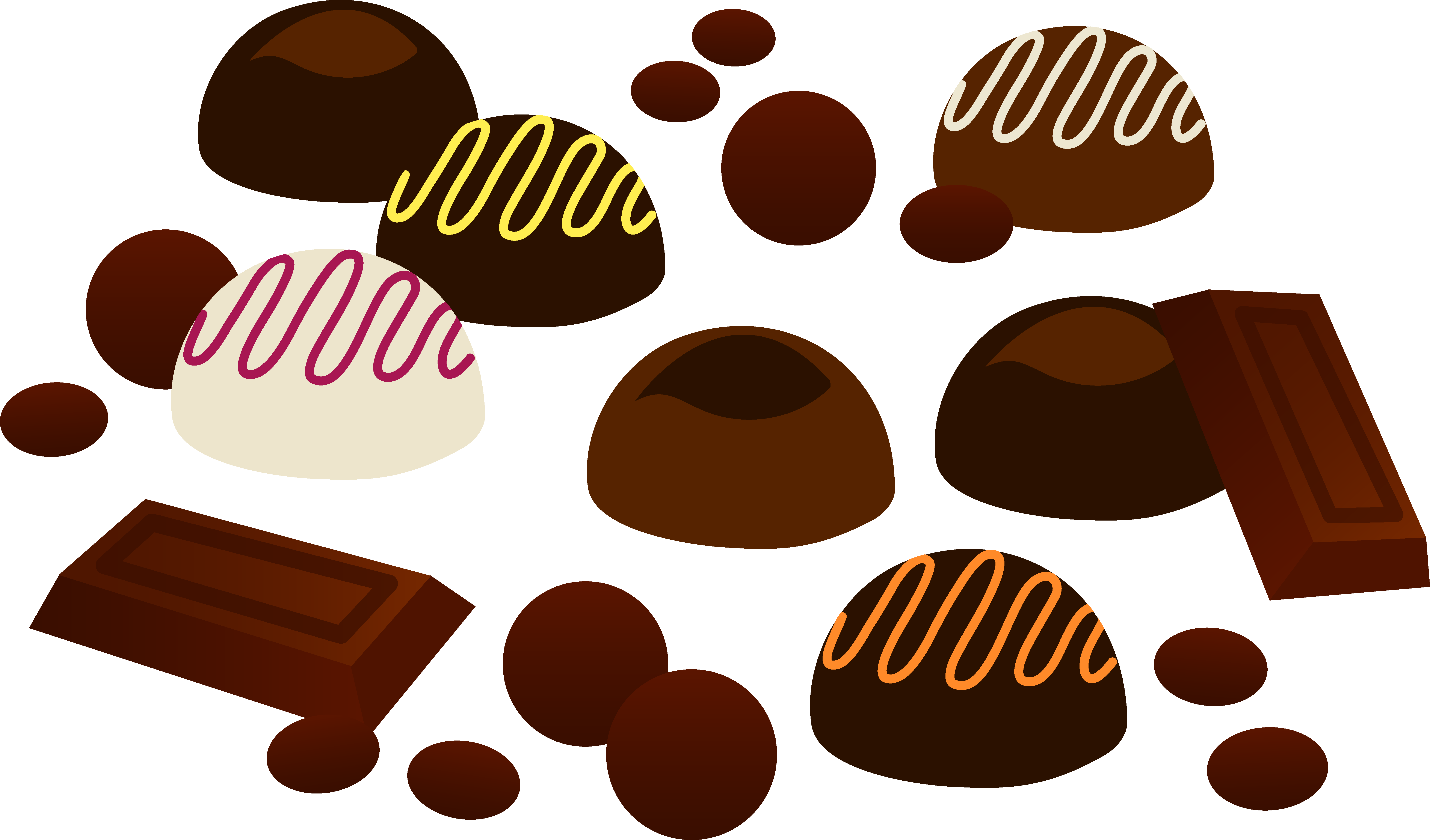 Chocolate clipart chocolate lollipop. Drawing at getdrawings com