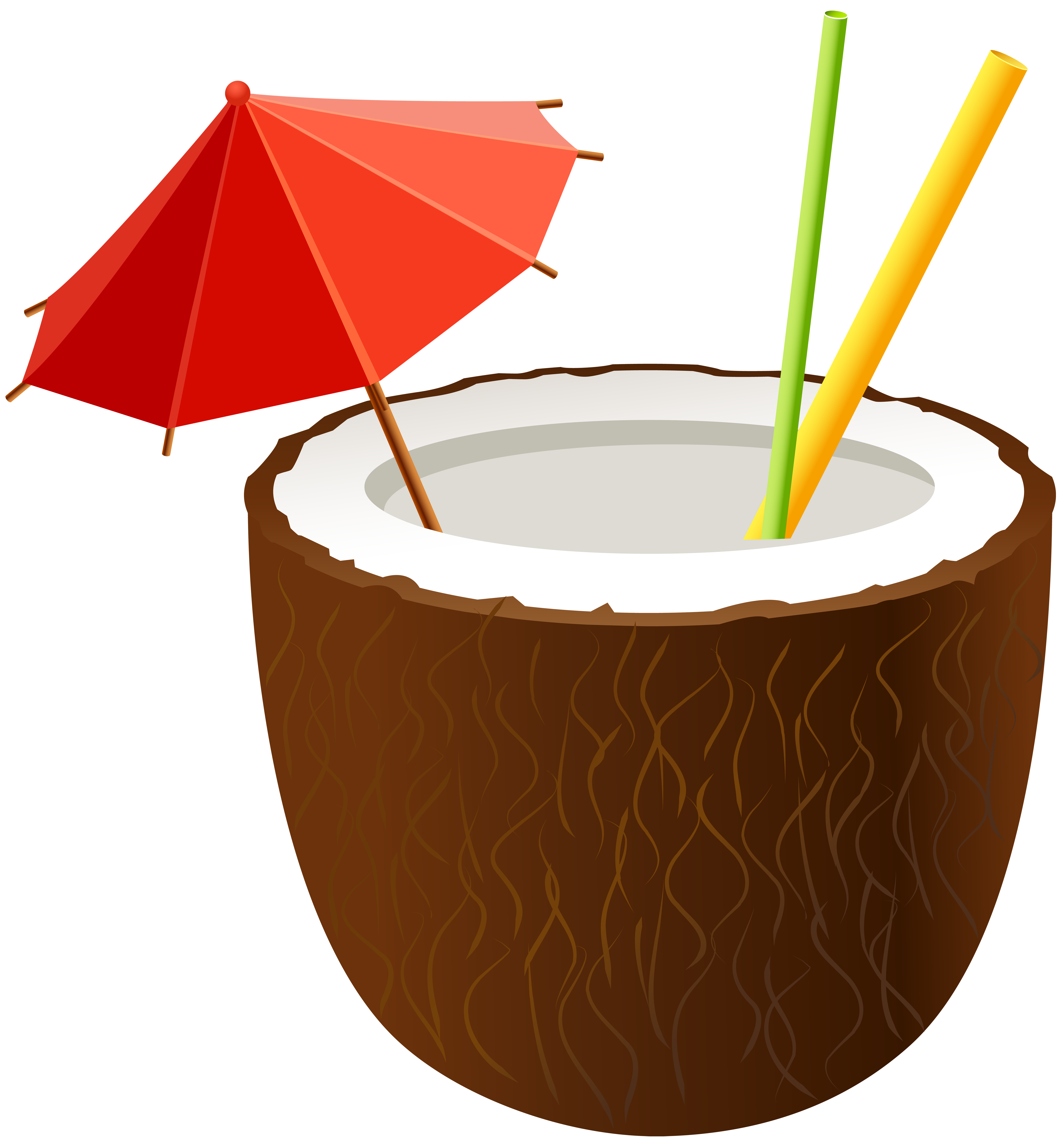Coconut drink png. Cocktail clip art image