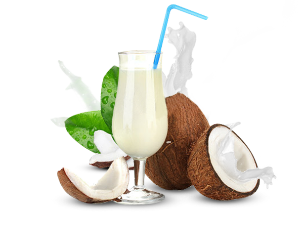 Coconut milk png. Amrutha coconuts