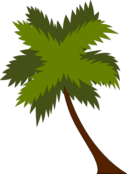 Coconut tree vector png. Clip art at clker