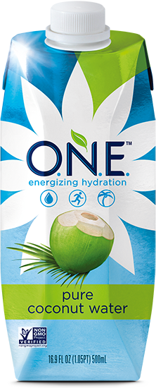 Coconut water png. O n e one