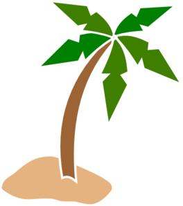 Coconuts vector transparent. Coconut tree clip art