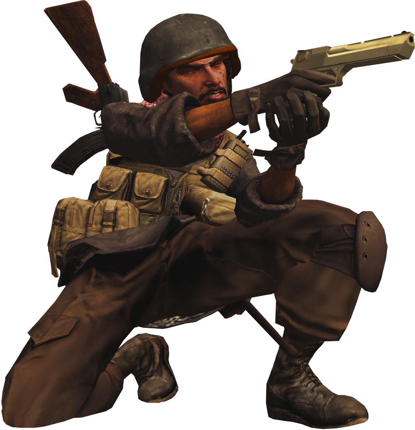 Cod 4 character png. Image opfor call of