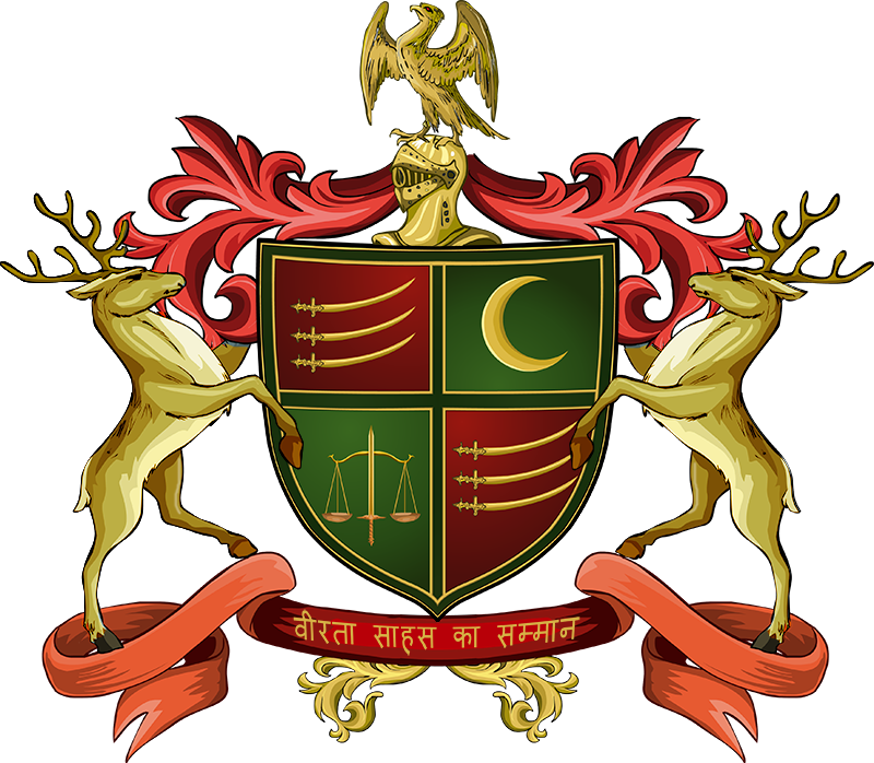 Code of arms png. Coat and emblems rajput