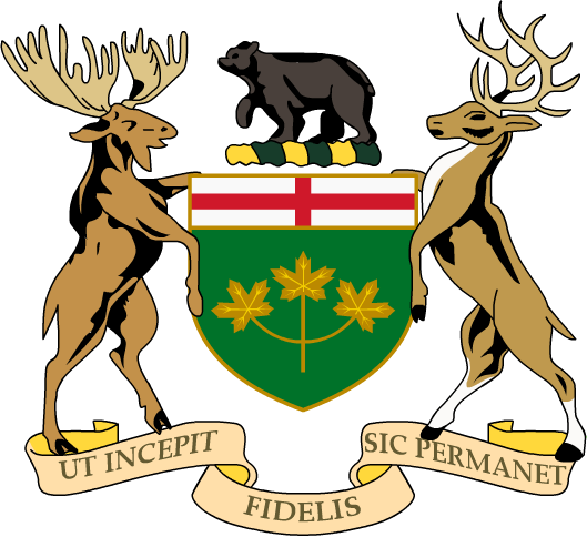 Code of arms png. File coat ontario wikimedia