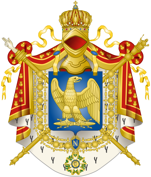Code of arms png. Imperial coat the french