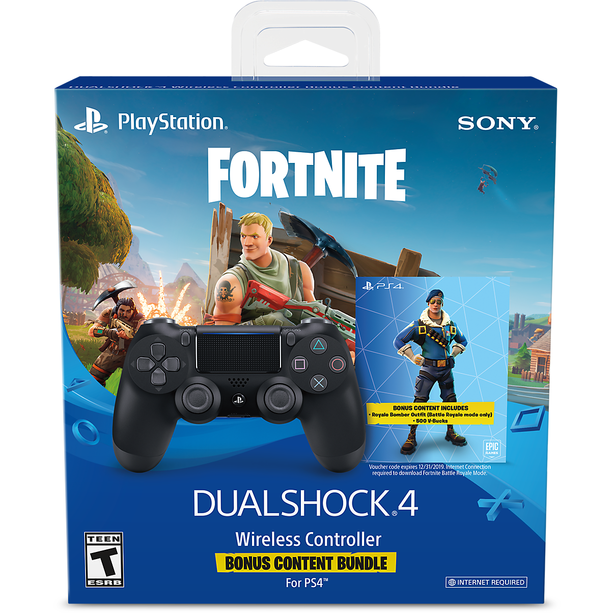 Transparent ps4 video game controller. Dualshock wireless playstation fortnite