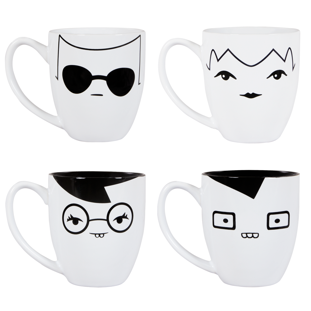 Coffe drawing kid. For fans by homestuck