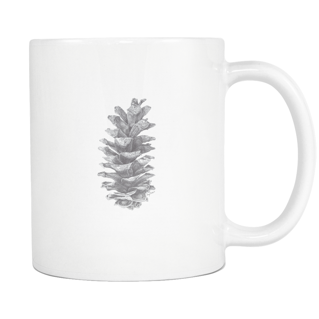 Pine drawing pen. Great mug for your