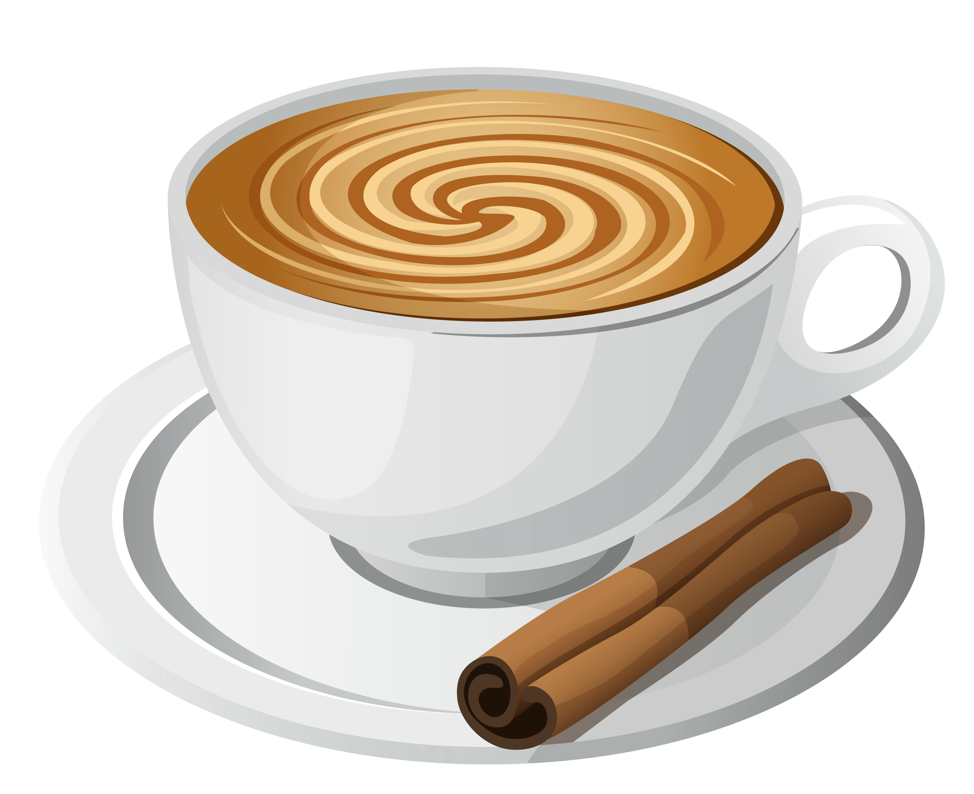 Coffee art png. With cinnamon clipart gallery