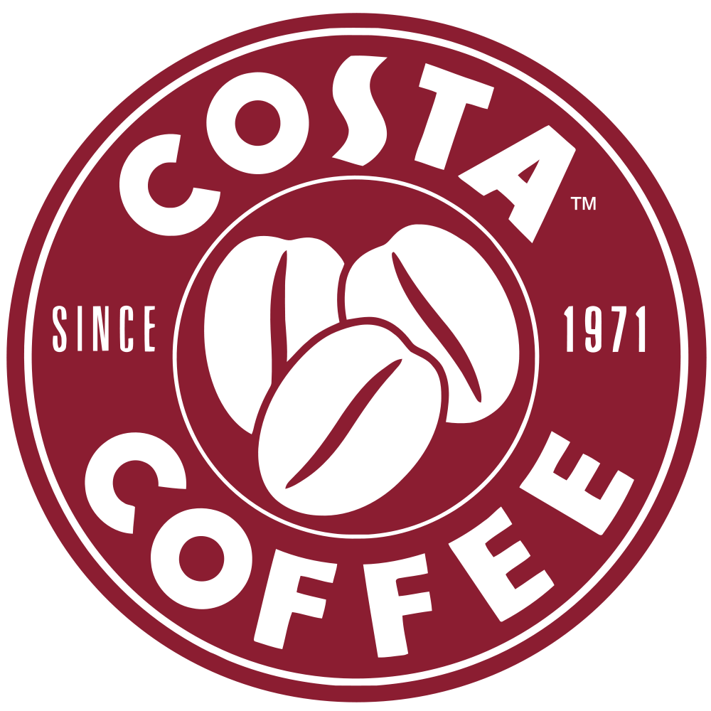 Coffee bean logo png. Costa the is mostly