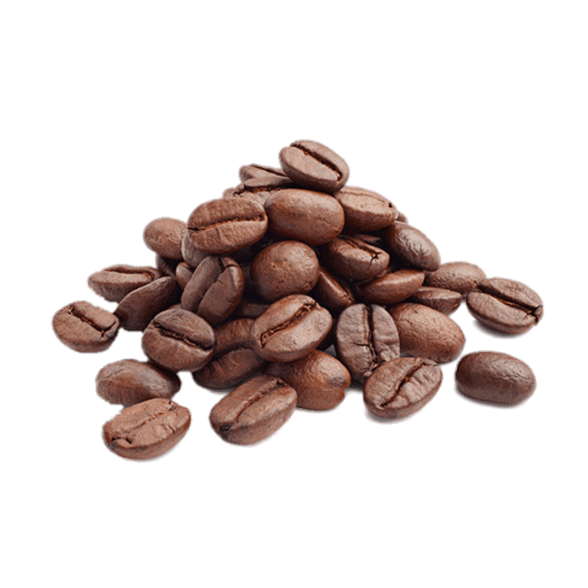 Coffee beans png. Pile of roasted transparent