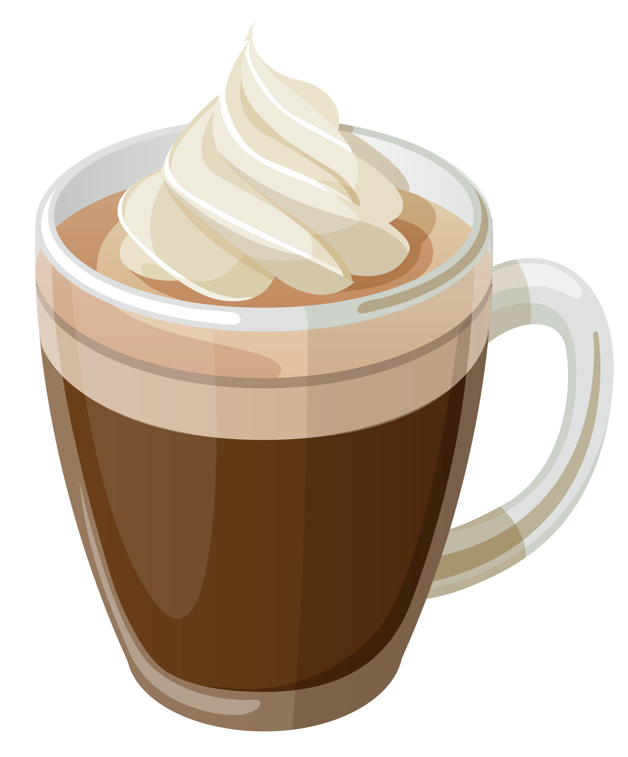 Coffee cartoon png. With cream clipart picture