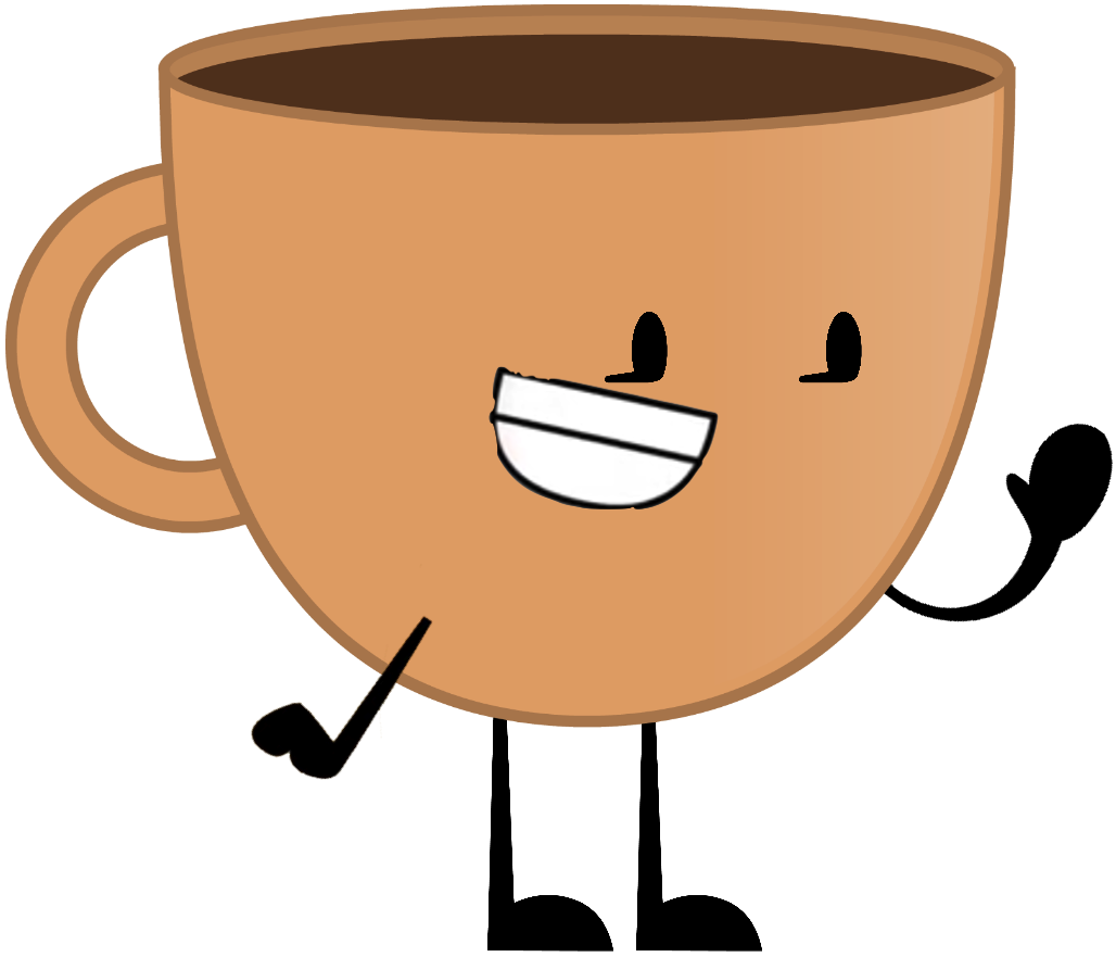 Coffee cartoon png. Image object terror cup
