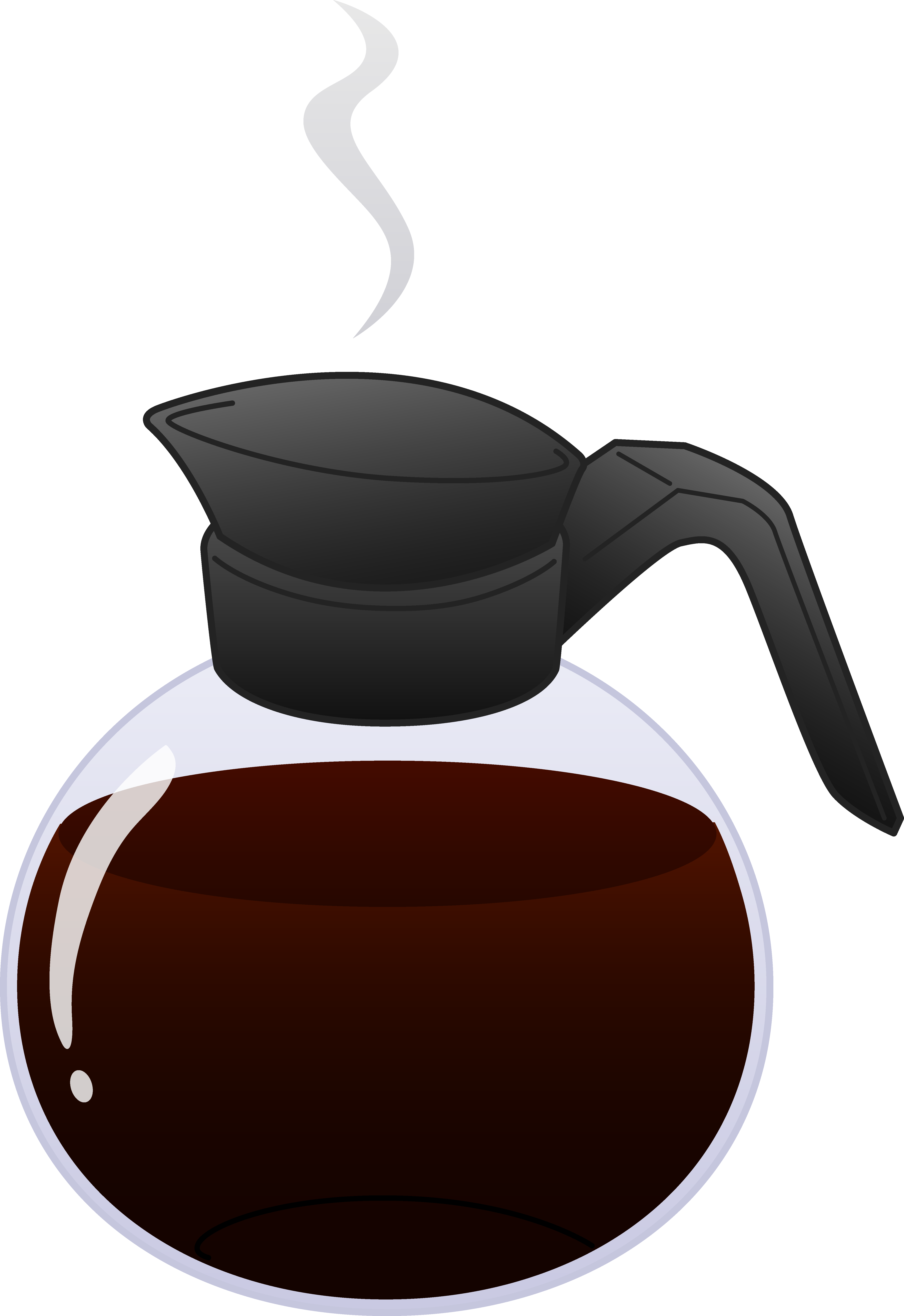 Coffee clip animation. Free pot clipart