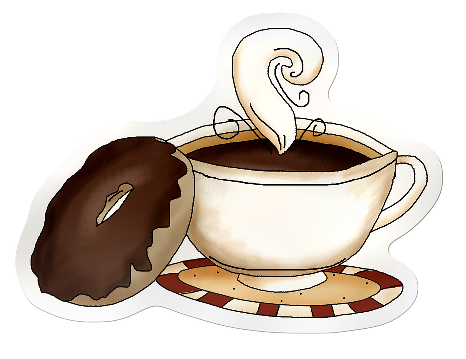 Horizontal clipart coffee. Collection of free cafe
