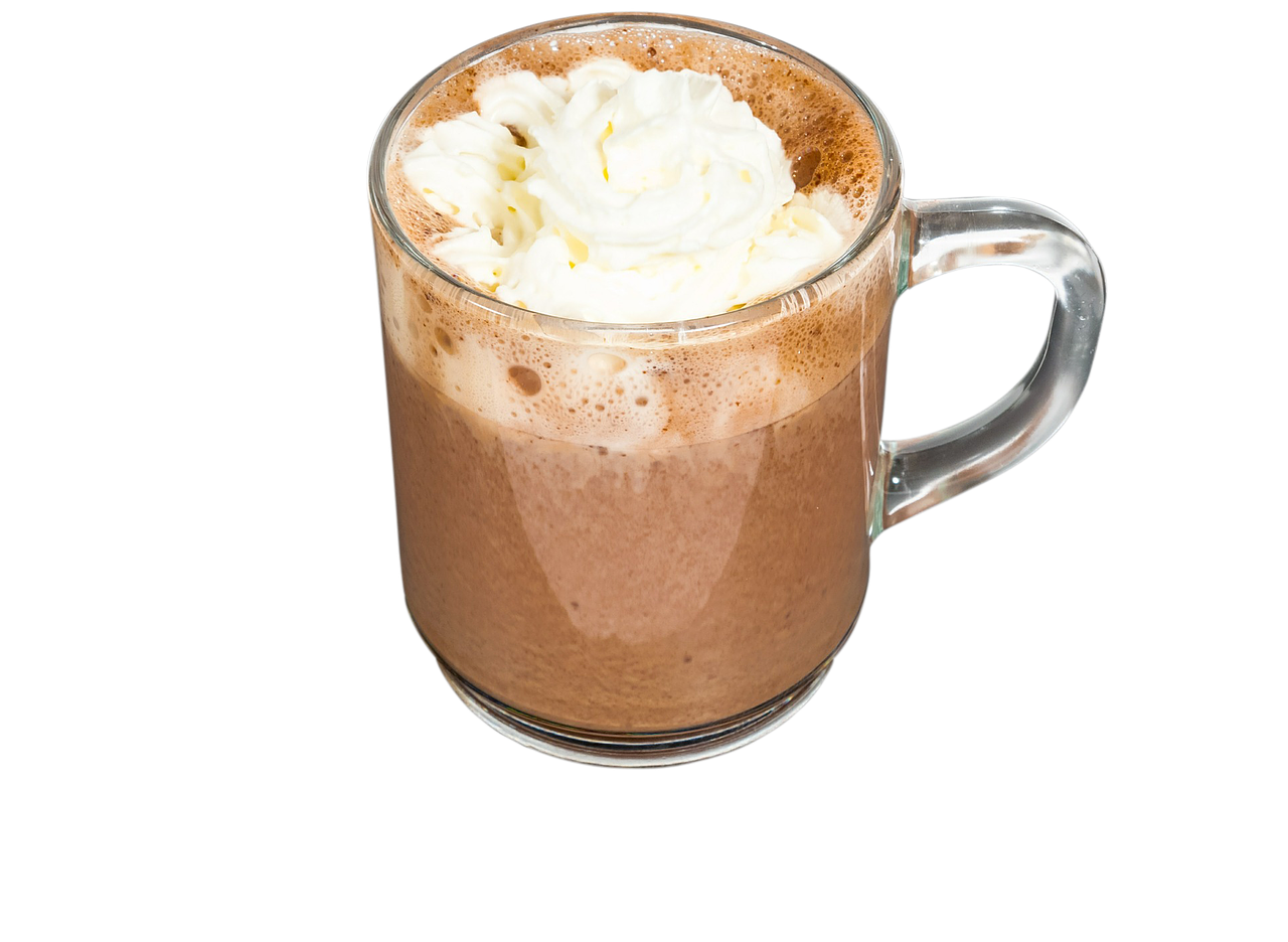 Coffee clip hot chocolate. Warm up the winter