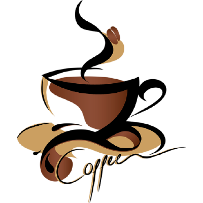 Coffee clip latte. Cup art transprent png