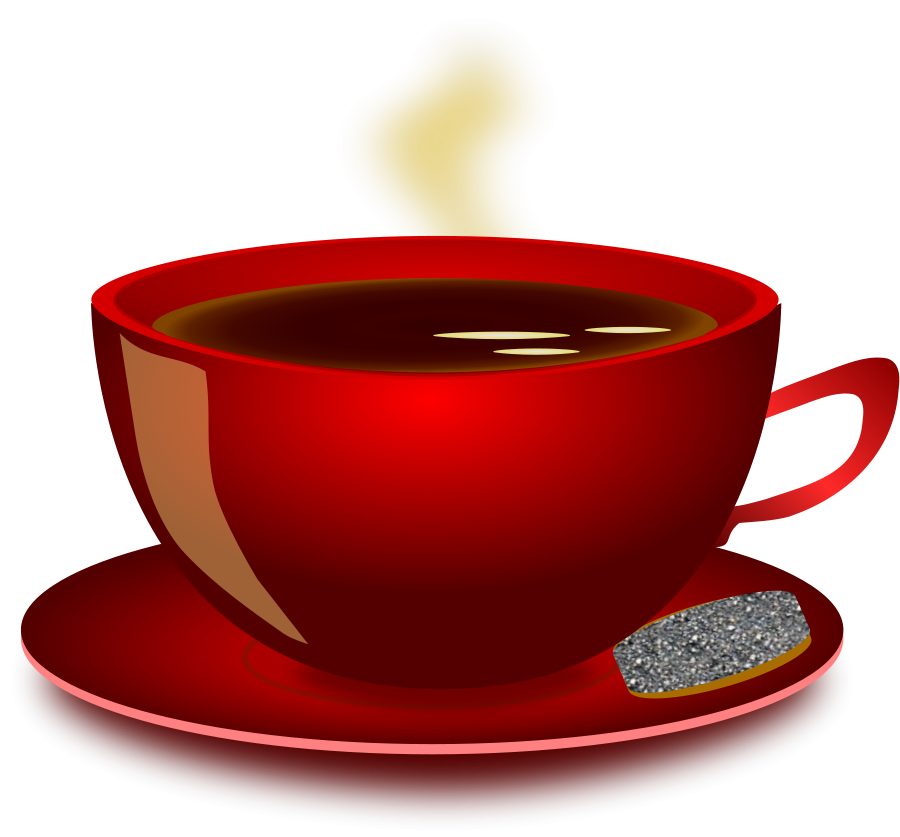 Coffee clip vector. Free picture of a