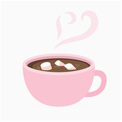 Coffee clipart hot chocolate. Inspirational best images about