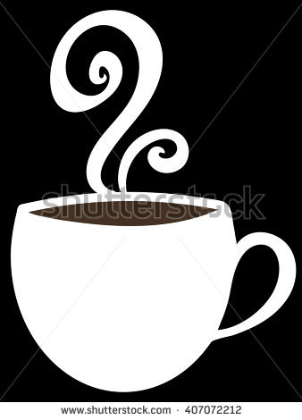 Coffee clipart hot chocolate. Steam pencil and in