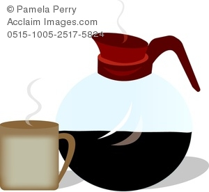 Coffee clipart kettle. Clip art image of