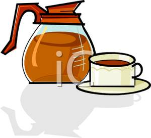 Coffee clipart kettle. Royalty free image a