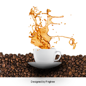 Vector steam coffee cup. Png images vectors and