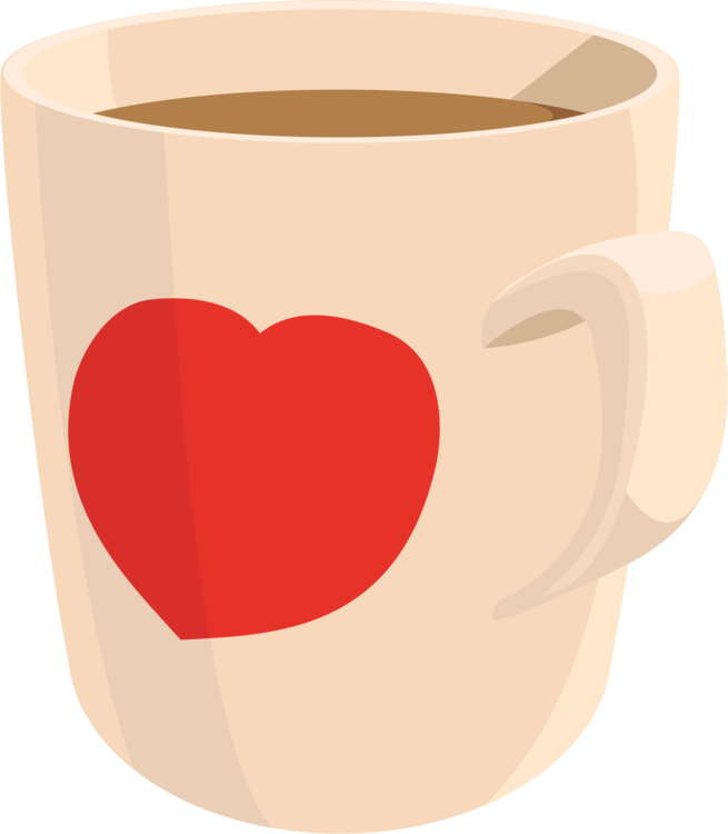 Coffee cup clipart heart. Mug teacup free commercial