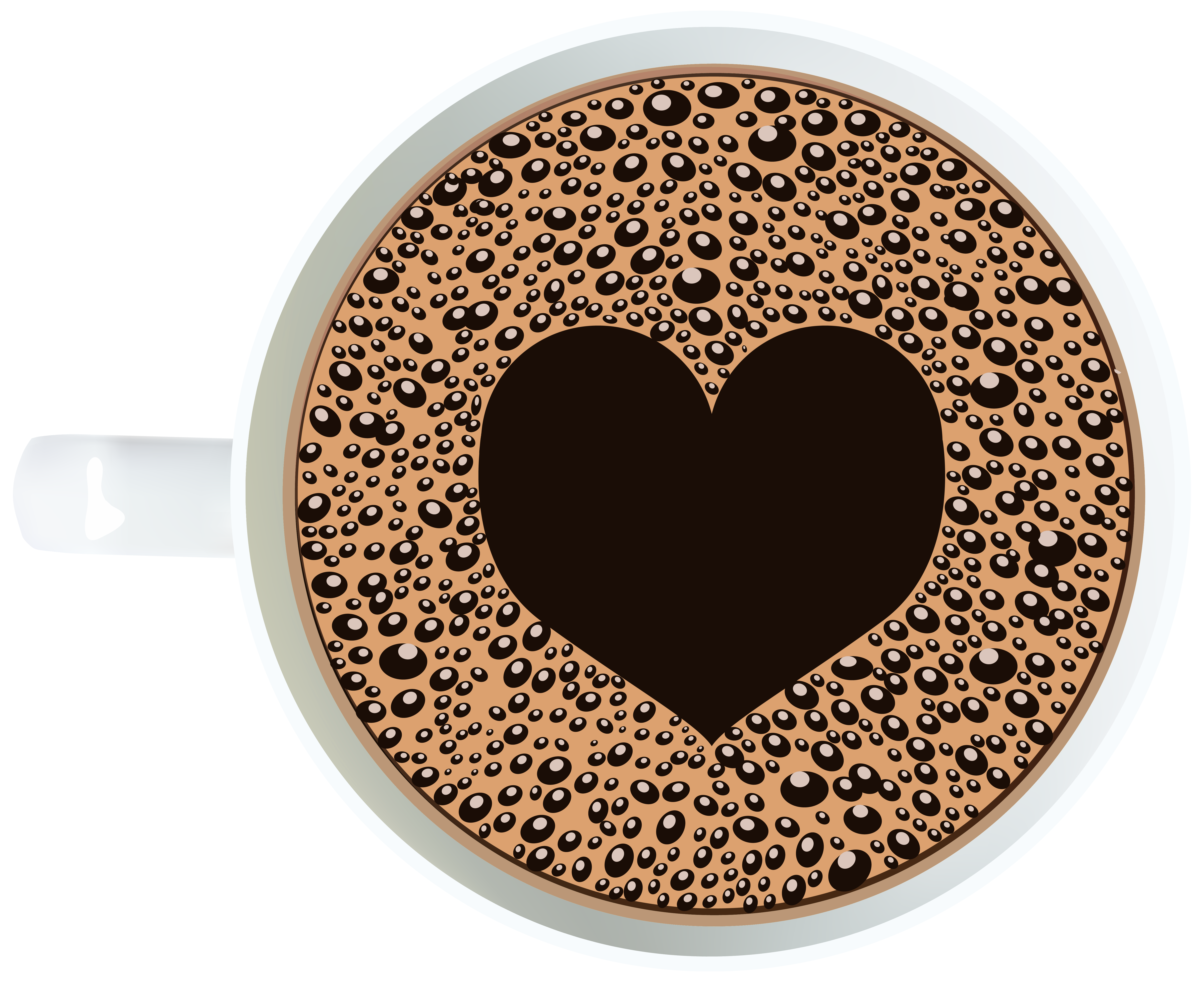 Coffee cup clipart heart. With png image gallery