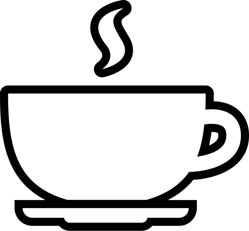 Coffee cup clipart drawing. Download outline png images