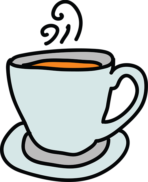 Drawing cup. Animation cartoon stock footage
