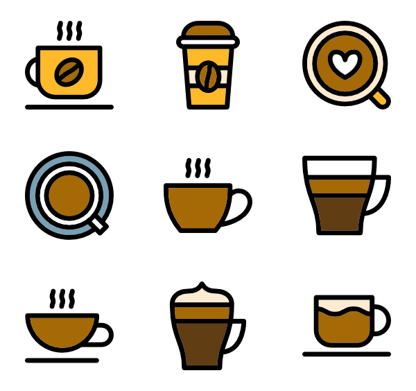 Coffee cup icon png. Packs vector svg