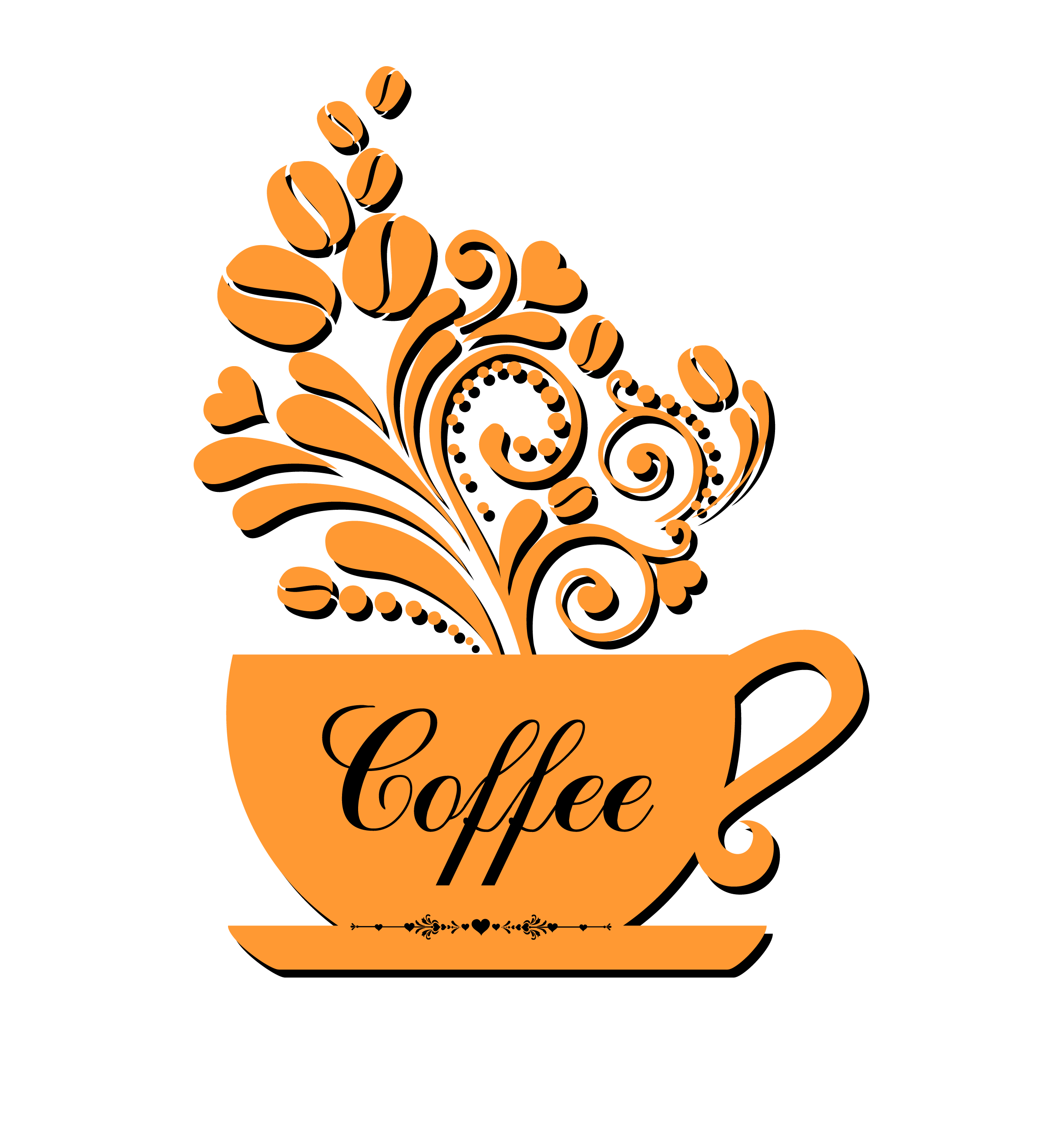 Coffee cup logo png. Transprent free download text