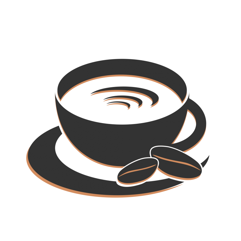 Coffee cup logo png. Vectors free elements objects