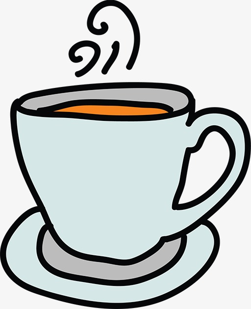 Coffee cup png cartoon. Clipart business element material
