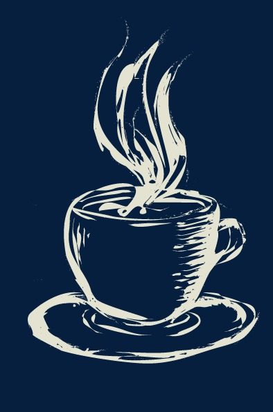 coffee cup png chalk