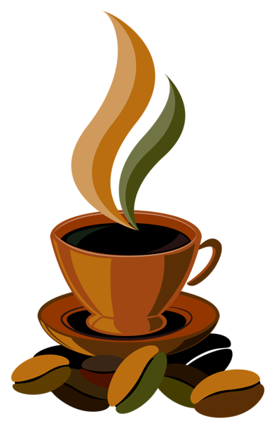 Drawing coffee idea. Cup png clipart vector